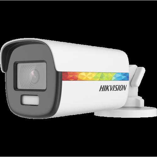 ГОТОВ КОМПЛЕКТ ЗА ВИДЕОНАБЛЮДЕНИЕ HIKVISION ColorVu - 2 мегапиксела FullHD 1080p /1920x1080 px/, с 4 корпусни камери с вградено БЯЛО LED осветление