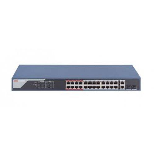 26-портов управляем (smart managed) PoE мрежов комутатор;DS-3E1326P-EI