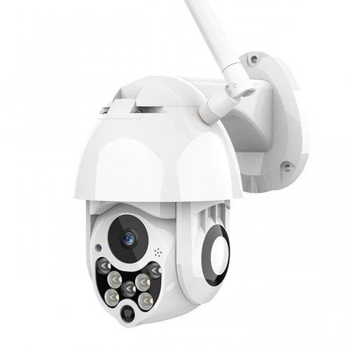 Безжична управляема Pan/Tilt компактна IP камера; обектив 3.6 mm;P05-7LED
