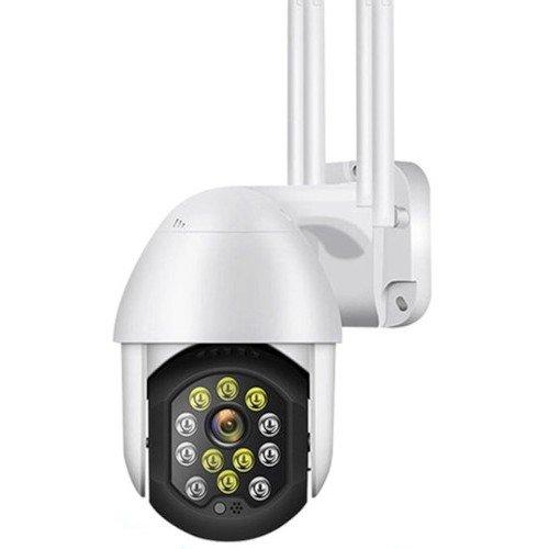 Безжична управляема Pan/Tilt компактна IP камера; обектив 3.6 mm; H.264 компресия;P11-12