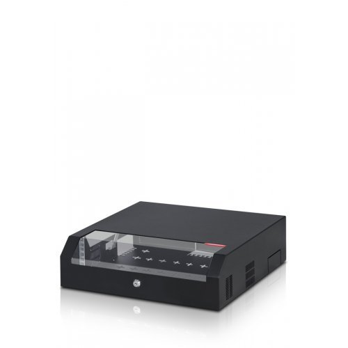 """19"""" шкаф 3U+2U 500/480мм за монтаж на стена/таван;FORM-SLM-5U"""