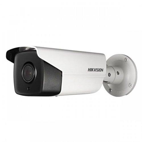 4K UltraHD Мрежова IP камера HIKVISION DS-2CD2T85FWD-I5 - 8 мегапиксела, с аналитични функции, Обектив: фиксиран 4 mm