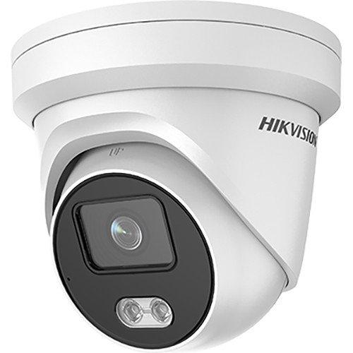 Мегапикселова куполна IP камера Ден/Нощ, вградена бяла LED светлина с обхват до 30м;DS-2CD2347G2-L