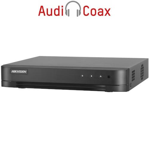 16-канален пентабриден HD-TVI/AHD/CVI/IP цифров рекордер;DS-7216HGHI-K1(S)