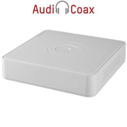 16-канален пентабриден HD-TVI/AHD/CVI/IP цифров рекордер;Audio Over Coaxial;DS-7116HQHI-K1(S)