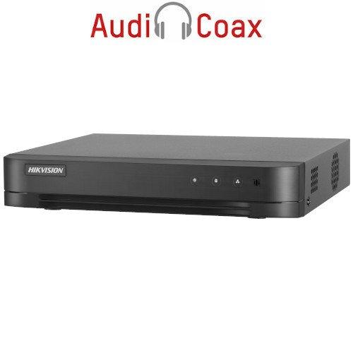 4-канален пентабриден HD-TVI/AHD/CVI/IP цифров рекордер;DS-7204HQHIK1/ A(S)