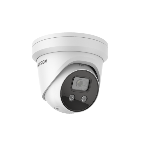 Мегапикселова куполна IP камера Ден/Нощ, EXIR технология с обхват до 30м;DS-2CD2346G2- ISU/SL