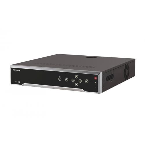 32-канален 4K мрежов рекордер/сървър; поддържа 32 IP камери;DS-7732NI-I4(B)