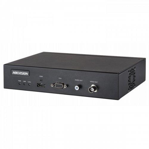 1-канален 4K мрежов видеодекодер за управление на видеостена;DS-6901UDI