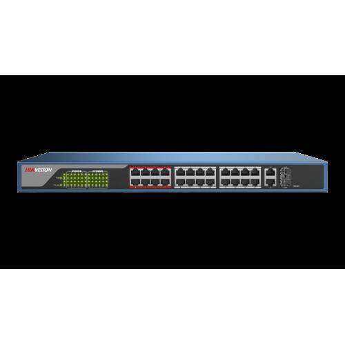 26-портов управляем (web managed) PoE мрежов комутатор;DS-3E1326P-E