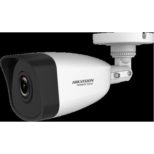 Мегапикселова корпусна IP камера Ден/Нощ с вградено IR осветление с обхват до 30 м;HWI-B140H-M