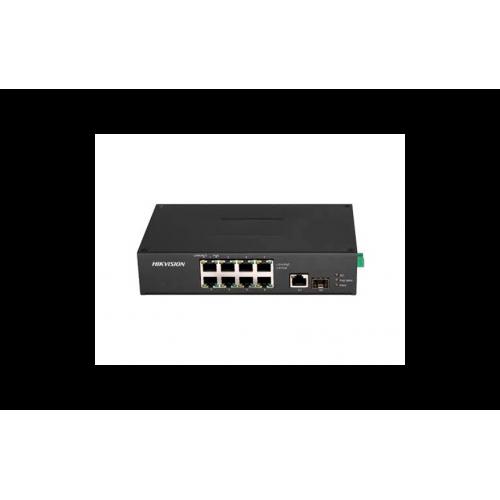 10-портов индустриален PoE мрежов комутатор;DS-3T0310HP-E/HS
