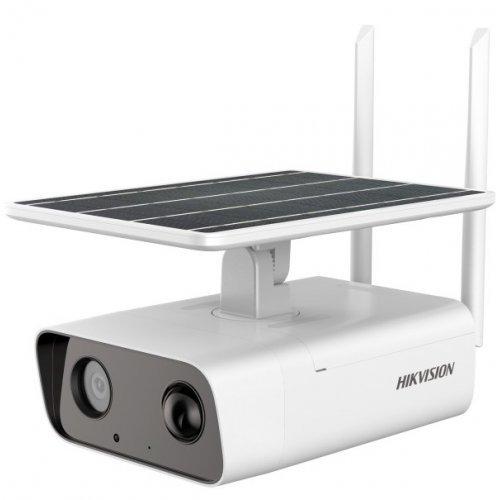 Автономна 4G IP камера Ден/Нощ, EXIR технология с обхват до 30м; 4.0 Мегапиксела (2688x1520@12.5 кад/сек);DS-2XS2T41G0- ID/4G/C04S05