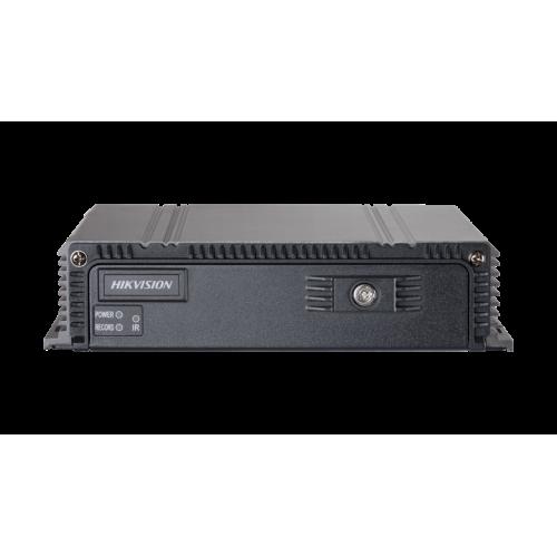 4-канален хибриден видеорекордер за видеонаблюдение и запис в превозни средства;DS-MP5604 + DSMP1460/GLF/WI58