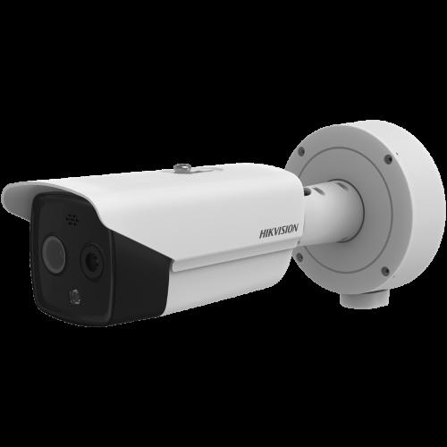 Комбинирана термовизионна/дневна IP камера;DS-2TD2617- (3/6/10)/PAI