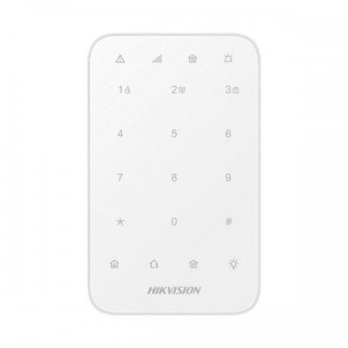 Безжична клавиатура с LED бутони за панели AX PRO;DS-PK1-E-WE