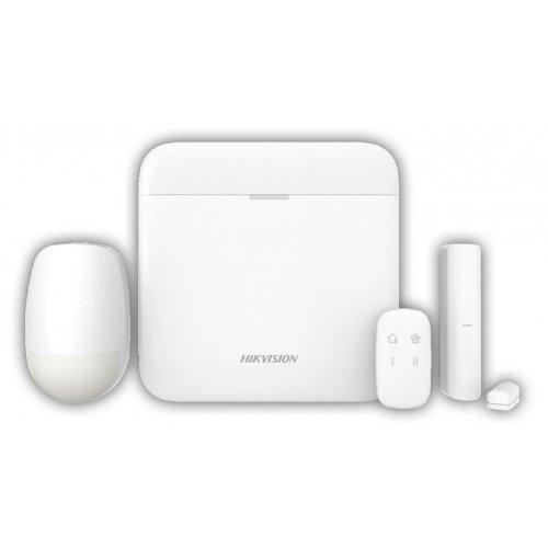 Безжичен комплект алармена система 868Mhz с видеоверификация и дистанционно управление;DS-PWA64-Kit-WE