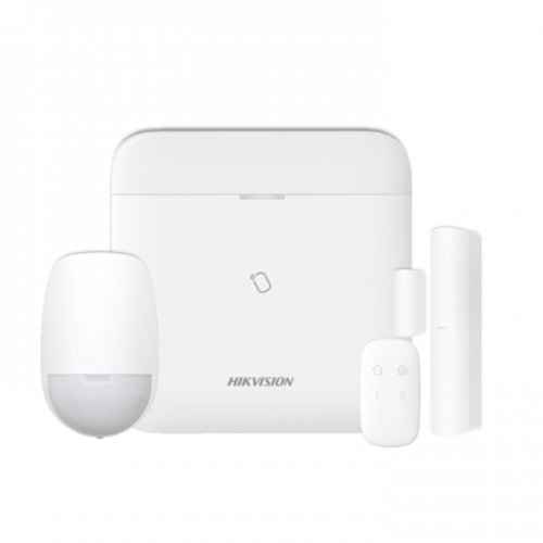 Безжичен комплект алармена система 868Mhz с видеоверификация и дистанционно управление;DS-PWA96-Kit-WE