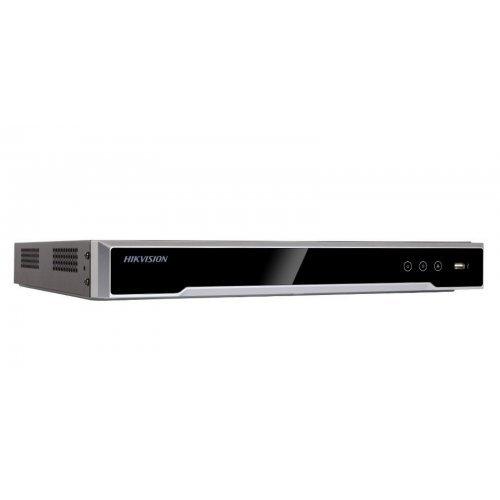16 канален професионален IP мрежов видеорекордер/сървър (NVR) HIKVISION: DS-7616NI-K2/16P С вградени 16 захранващи LAN PoE порта. Поддържа 16 мрежови IP камери до 8 MPX. H.265+/H.265 компресия