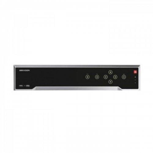 32 канален професионален 4K IP мрежов видеорекордер/сървър (NVR) HIKVISION: DS-7732NI-I4 Поддържа 32 мрежови IP камери до 12 MPX. H.265+/H.265 компресия. 4 SATA диска до 8 TB всеки
