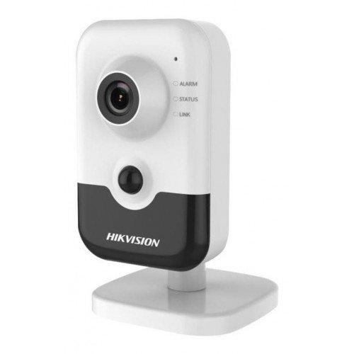 Безжична Wi-Fi мрежова IP камера HIKVISION DS-2CD2443G0-IW - 4 мегапиксела, Обектив: фиксиран 2.8 mm, с аналитични функции, с вграден микрофон, говорител и PIR сензор за прецизна детекция