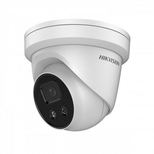 Мрежова IP куполна камера HIKVISION DS-2CD2346G1-I - 4 мегапиксела, с AcuSense технология и вграден DEEP LEARNING алгоритъм за класификация на хора и превозни средства, Обектив: фиксиран 2.8 mm