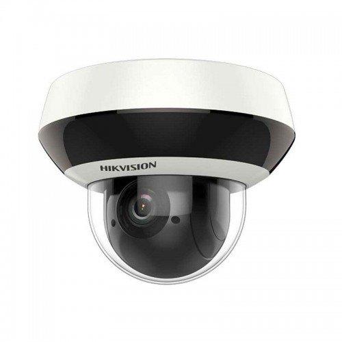 Комбинирана панорамна мултисензорна и въртяща мрежова IP камера: HIKVISION DS-2PT3326IZ-DE3: 2 MPX, инфрачервено осветление до 10 метра в радиус. Включва общо 3 отделни камери