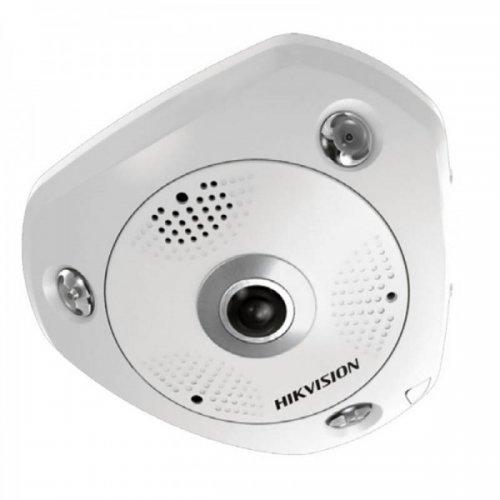 Панорамна 360 градуса мрежова IP камера HIKVISION DS-2CD6365G0-I - 6 мегапиксела, с AcuSense технология и вграден DEEP LEARNING алгоритъм за прецизна детекция на хора и превозни средства