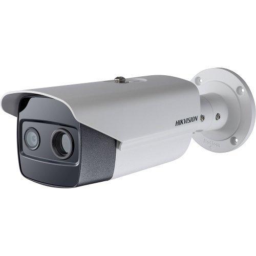 HIKVISION DS-2TD2615-10: Комбинирана термовизионна и мрежова IP камера Bi-Spectrum, обектив 10 mm с ъгъл на видимост 23°, детекция на хора до 200 метра, детекция на автомобили до 613 метра