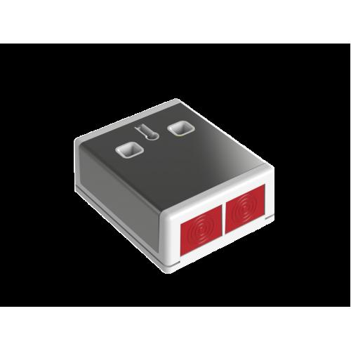 Паник бутон метален;PADP3/SS/WH