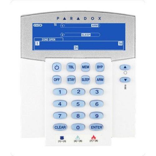 32-символна LCD клавиатура с вграден четец за безконтактни карти;K641R BUL/ENG