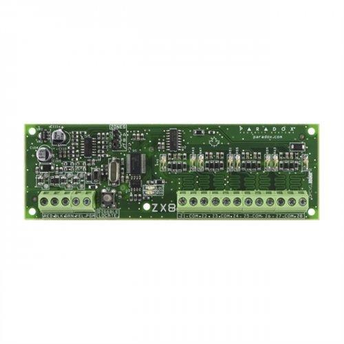 BUS Модул с 8 хардуеърни зони;ZX8