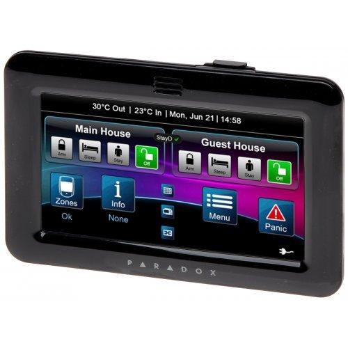 Клавиатура със сензорен екран - тънък и елегантен дизайн;TM50