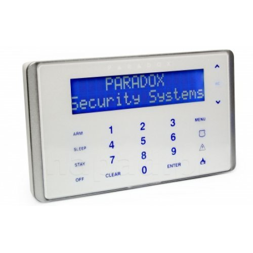 Touch Sense LCD клавиатура 32-символен син LCD екран;K656 BUL/ ENG