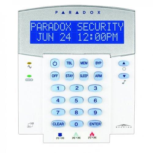 32-символна LCD клавиатура с вграден безжичен приемник paradox;K32LX