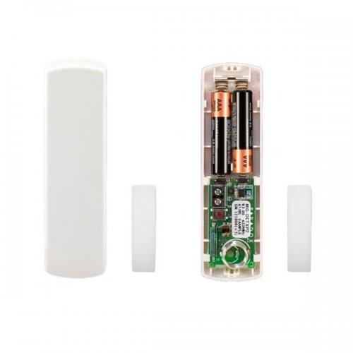 Безжичен магнитен контакт 433 MHz бял/ кафяв paradox;DCTXP2W/B