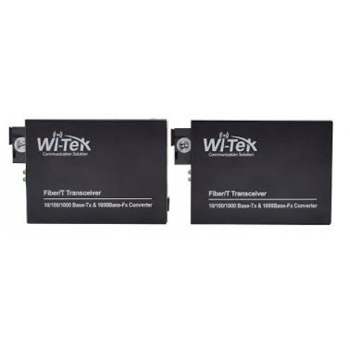 Медиа конвертор; 1 х Gigabit Ethernet порт + 1 x Fiber optic порт (SFP);WI-MC111G